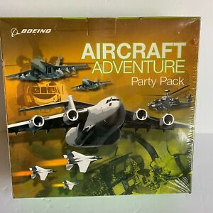 Boeing Aircraft Adventure Board Game Birthday Party Pack Kit Top Pilot Hero