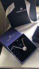 Swarovski Sparkling Dance Round Necklace, White, Rhodium plated - 5286137