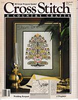 Cross Stitch & Country Crafts Magazine May/June 1988