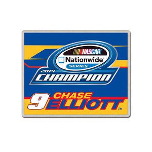 CHASE ELLIOTT #9 NATIONWIDE SERIES CHAMPION 2014 NASCAR TEAM PIN