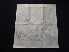 Landkarte Meßtischblatt 3243 Linum, Hakenfelde, Flatow, Tietzow, Staffelde, 1942