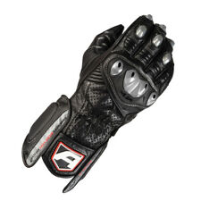 AKITO SPORTS RIDER MOTORCYCLE MOTORBIKE SPORT GLOVE THERMAL LINER BLACK CHROME