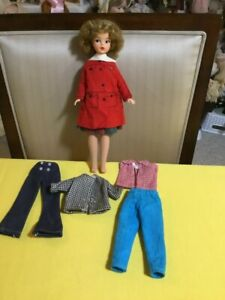 "12"" Tammy Vintage IDEAL RELIABLE doll, 1964, additional outfits ! don't miss out"