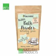 Nacomi Natural Relaxing Bubble Bath Powder Refreshing Green Tea 100g