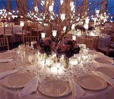 12 Hanging Tea Light Votive Candle Holders Wedding Manzanita centerpiece Decor
