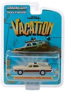 1:64 GreenLight *HOLLYWOOD 24* NATIONAL LAMPOONS 1970 Oldsmobile Vista Cruiser