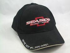 Seaside Chevrolet Oldsmobile Dealership Hat Black Hook Loop Baseball Cap