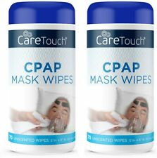 CPAP Cleaning Wipes 70 Per Container Unscented Lint Free **2 Containers**