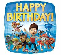 """17"""" Nickelodeon Paw Patrol Mylar Foil Balloon Party Decorating Supplies"""