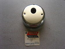 NOS Yamaha Tachometer Chrome Plated Cover 73-75 TX500 74 TX650 371-83508-70-00