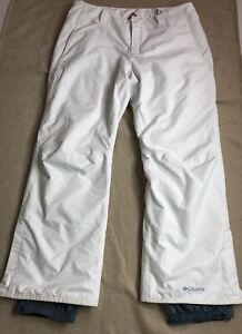Columbia Bugaboo Omni-Heat Insulated Snow Pants Women's Plus Size 1X White