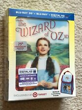 Wizard of Oz 3D Blu-Ray Pack Target Exclusive Lenticular Slipcover & Lunch bag
