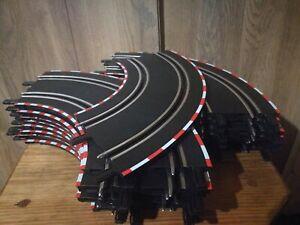 Carrera Digital 143 / Go!!!, lot of 18x 90 degree turn curve extension