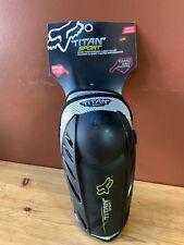 NEW! Fox Black Titan Sport Elbow Guards 04265-001-L/XL Size MENS L/XL NEW