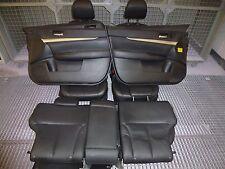 Subaru Legacy Outback BM/BRS Ledersitze Lederausstatung schwarz