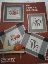 84 The Botanical Collection Cross Stitch Pattern Book Tomato Corn Squash Pepper