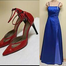 Michaelangelo long blue formal dress, size 2