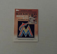 2012 Topps Update Blockbusters Logo Patch Relic #BP-29 Jose Reyes