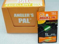 Angler's PAL Long Last Dry Type Clip On Rod Top Glow Stick size 1L 50 pcs BOX