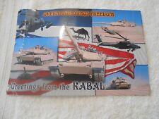 OPERATION IRAQI FREEDOM DEPLOYMENT POSTCARD USMC GREETING FROM THE KABAL 5X7 WAR