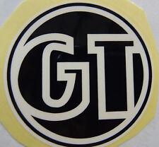 GT Decal Sticker White & Black BMX Park Street Racing Bikes Bicycle