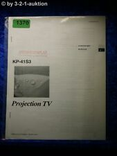 Sony Bedienungsanleitung KP 41S3 Projection TV (#1370)