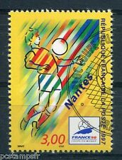 FRANCE - 1997, timbre 3076, SPORT, FOOTBALL, NANTES, oblitéré