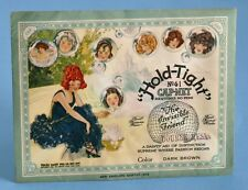1920's HOLD-TIGHT REAL HUMAN HAIR NET ORIGINAL ENVELOPE PACKAGE