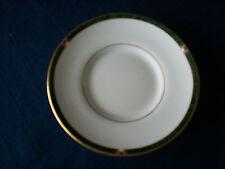 Royal Worcester Carina (green)coffee saucer (minor rim gilt wear)