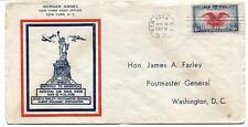 FFC 1938 Morgan Annex New York National Air Mail Week James A. Farley Washington
