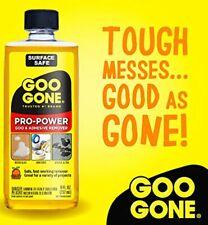 PRO Power GOO GONE Adhesive Sticky REMOVER Remove gooey label Sticker tape 8 oz