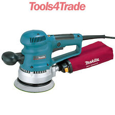 "Makita BO6030 6""3/152mm Random Orbit Sander With Dust Bag 110V"