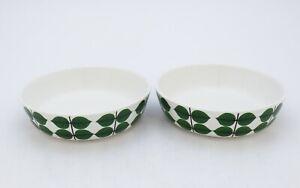 2 Breakfast bowls - Berså (Bersa) - Stig Lindberg - Gustavsberg