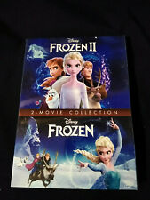 Frozen 1-2 Dvd Bundle 2-Movie Collection Box Set Brand New Free Shipping!