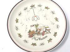"""GIEN La Raclette Lampe """"Tulipe"""" Salad Plate Style Marie-Pierre Boitard"""