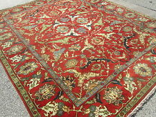 Attractive Serapi Design Oriental Room Size Rug / Carpet Fine Condition 8 x 9.9