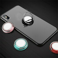 Universal 360 Mini Finger Ring Cell Phone Holder Stand Magnetic Car Metal Grip