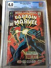 CGC 4.0 Marvel Super-Heroes #13 *OW-White*1968*1st App. Carol Danvers*MOVIE!