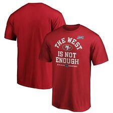 San Francisco 49ers NFL Men's Pro Line NFC West Division Champions T-Shirt - New