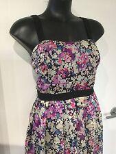 Size 14 Beautiful Floral Dream Diva Dress