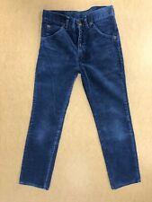 FF927 BOYS WRANGLER BLUE STRAIGHT LEG COTTON CORD TROUSERS AGE 13 YEARS W25 L25