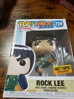 Funko Pop Hot Topic Exclusive NARUTO ROCK LEE  New in Box FREE SHIPPING