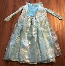 Disney Store Girls Frozen Elsa Costume Dress - Size 7/8