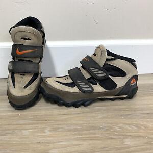 Nike ACG Men's Mountain Bike Cycling Shoes size 10.5 Beige Brown