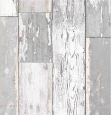 Klebefolie Holzoptik Scrapwood hell grau 90x200cm Möbelfolie Holz rustikal Folie