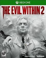 THE EVIL WITHIN 2 MICROSOFT XBOX ONE BRAND NEW FACTORY SEALED SHIPS QUICK!