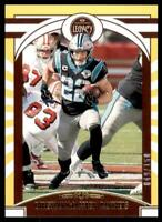 2020 Legacy Base Yellow #86 Christian McCaffrey /150 - Carolina Panthers