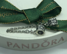 Pandora Floral Daisy Flower Silver Safety Chain 790385 Authentic Genuine Ale