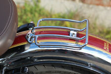 Solo luggage rack Custom Chrome Bagages Pont Royal Enfield, Harley & Other