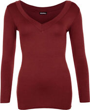 V Neck Regular Casual Tops & Shirts for Women